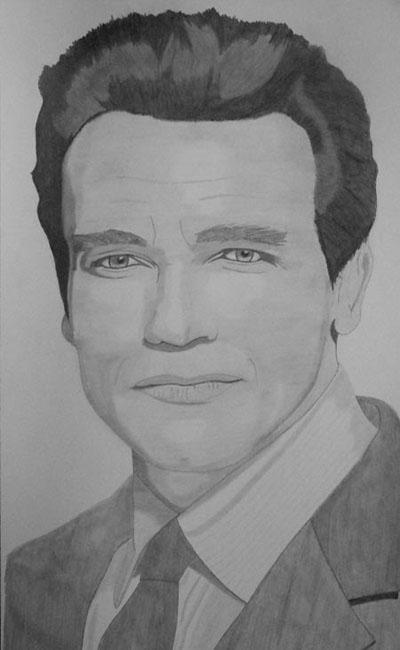 Arnold Schwarzenegger por Inervisions